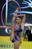 Schale rhythmische Gymnastik-Grandprix Deriugina in Kyiv, Ukraine Lizenzfreie Stockfotos
