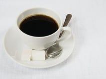 Schale schwarzer Kaffee Lizenzfreie Stockfotografie