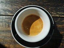 Schale Spezialitätskaffee stockbild