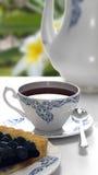 Schalen-Kaffee-Weiß Lizenzfreie Stockfotos