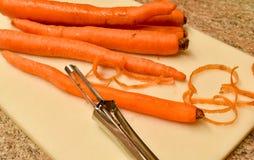 Schalen-Karotten Lizenzfreies Stockfoto