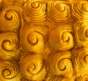 Schalen van het draakstandbeeld Gipspleisteroppervlakte van het dier Royalty-vrije Stock Afbeeldingen