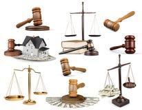 Schalen van rechtvaardigheid royalty-vrije stock fotografie