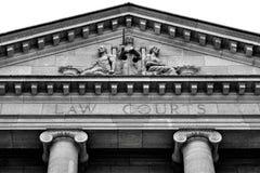 Schalen van rechtvaardigheid Stock Foto