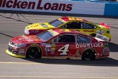 Schalen-Verfolgungsfahrer Kevin Harvick NASCAR Sprint Lizenzfreies Stockfoto