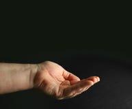 Schalenförmige Hand Lizenzfreie Stockbilder