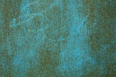 Schalenfarbe auf Wandhintergrund Stockfoto