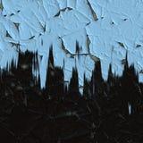 Schalenfarbenwand Stockfoto