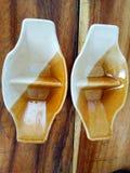 Schalenform für die Soße stockbild