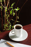 Schalenkaffee Stockfotos