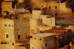 Schali ( Shali ) the old Town of Siwa Stock Photos