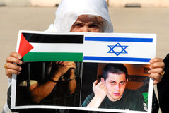 Schalit Deal on Verge of Realization. ISRAEL - OCTOBER 11: Israel and Hamas have reached a prisoner exchange deal that will secure the release of abducted Israel Stock Photos