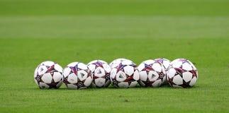 Schalke contra a liga dos campeões do PAOK foto de stock royalty free