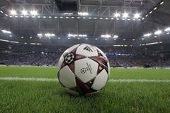 Schalke contra a liga dos campeões do PAOK Imagem de Stock