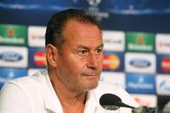 Schalke contra a liga dos campeões do PAOK Foto de Stock
