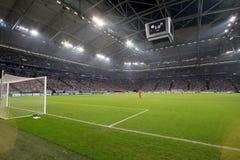 Schalke 04 contra Paok Fotografia de Stock Royalty Free