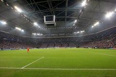 Schalke 04 gegen Paok Stockfotografie