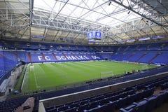 Schalke gegen PAOK-Meisterliga lizenzfreies stockbild