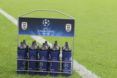 Schalke gegen PAOK-Meisterliga Lizenzfreies Stockfoto