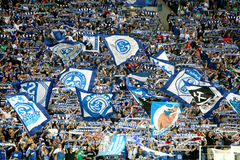 Schalke vs PAOK champions league Royalty Free Stock Photography