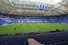 Schalke vs PAOK champions league Royalty Free Stock Photo