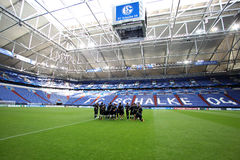 Schalke vs PAOK champions league Stock Images