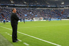 Schalke vs paok mistrzowie ligowi Zdjęcie Stock