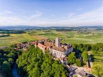 Schallaburg στη χαμηλότερη Αυστρία Στοκ φωτογραφία με δικαίωμα ελεύθερης χρήσης
