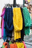 Schals für Verkauf Stockbilder