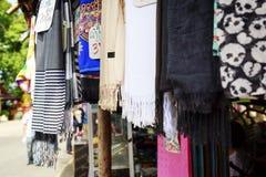 Schals von Thailand Stockfoto