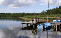 Schalsee-I-northern Germany Royalty Free Stock Photography