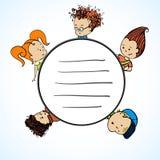 Schaltgruppe Kinder Lizenzfreies Stockbild