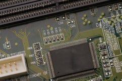 Schaltkreis für Hintergrund- oder Designnahaufnahme stockfoto