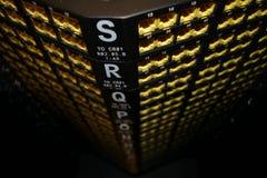 Schalttafeln Cat6 Lizenzfreies Stockbild