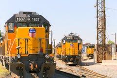 Schaltung von Zügen lizenzfreies stockbild