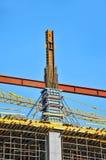 Schalungsbau und Bodenträger Stockbilder