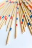 Schang-Hai - bastoni di legno Fotografia Stock