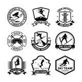 Schansspringen Vectorpictogrammen 27 Royalty-vrije Stock Afbeelding