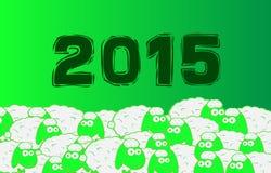 Schapen 2015 Royalty-vrije Stock Afbeelding