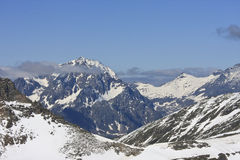 Schareck, a mountain in Carinthia, Austria Stock Photos