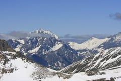 Schareck, una montagna in Carinzia, Austria Fotografie Stock