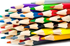 Scharfe Bleistifte Stockfoto
