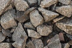 Scharfe Steine für einen Hintergrund Stockfotos