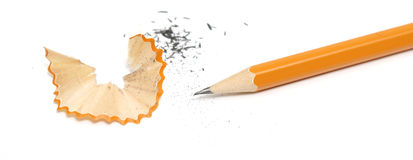 Scharfer Bleistift Lizenzfreies Stockfoto