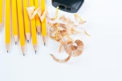 Scharfer Bleistift 2B Lizenzfreie Stockfotografie