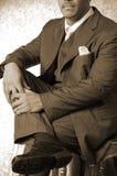Scharfer gekleideter Mann lizenzfreie stockbilder