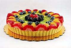 Scharfer Kuchen der Frucht lizenzfreie stockfotografie