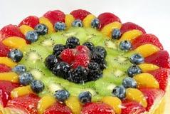 Scharfer Kuchen der Frucht Stockfotos