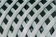 Scharfes diagonales grünes Hintergrundmuster Lizenzfreies Stockbild