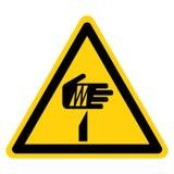 Scharfes Punkt-Symbol-Zeichen, Vektor-Illustration, Isolat auf weißem Hintergrund-Aufkleber EPS10 stock abbildung